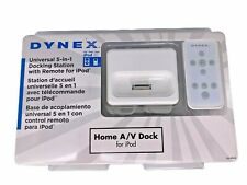 New Dynex Universal 5-in-1 Docking Station with Remote for Apple iPod DX-IPDR2