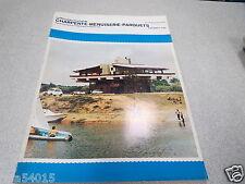 LE NOUVEAU JOURNAL DE CHARPENTE MENUISERIE PARQUETS N° 8-9 septemb 1975 H VIAL *