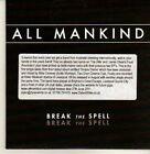 (CP33) All Mankind, Break The Spell - 2011 DJ CD