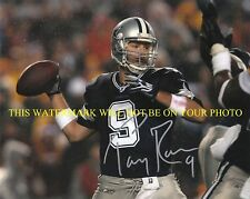TONY ROMO SIGNED AUTOGRAPH AUTO 8x10 RPT PHOTO DALLAS COWBOYS LEGENDARY QB