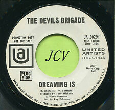 DEVIL'S BRIGADE (Dreaming Is / Hey Mister Man)  ROCK  45 RPM  RECORD