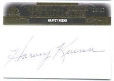 2011 Harvey Kuenn SP Legendary Cuts Black AUTO Baseball Card #/27 Detroit TIGERS