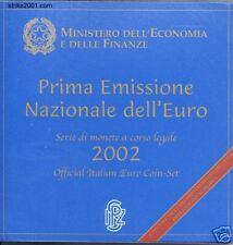 Euro ITALIA 2002 in Folder Ufficiale