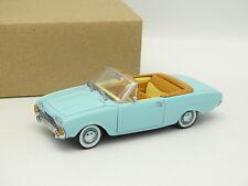 Detalle Cars SB 1/43 - Ford Taunus Cabriolet Azul