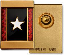 Anniversary Commemorative Insignia Pin White Star - Vietnam 50th