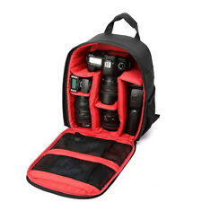 Impermeable DSLR SLR Cámaras Vídeo Mochila bandolera Funda para Canon Nikon Sony