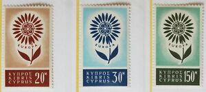 Cyprus – 1964 – Europa Set – Cat £19 – UM (R4)