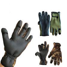 Outdoor Winter Fishing Gloves Waterproof Three Fingers Cut Climbing Glove Riding