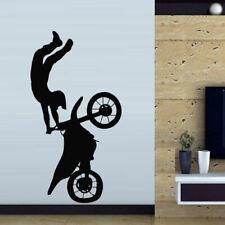 Wall Decal Sticker Vinyl Tribal Dirt Bike Moto Motorcycle Jump Gp M821