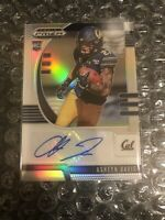2020 Panini Prizm Draft Picks Ashtyn Davis Silver Autograph RC SP Cal No. 216