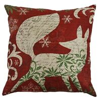 Christmas fox Pillow Case 18 x 18inch Cushion Cover Home Decor Design Throw