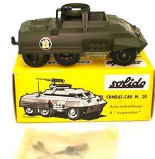 SOLIDO VINTAGE NO. 200 COMBAT CAR M.20  - MINT BOXED - 1962