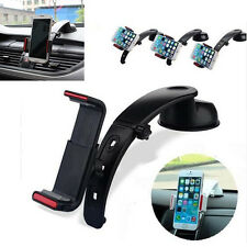 360° Rotating Universal Car Mount Cradle Holder Stand For Tablet GPS Cell Phone