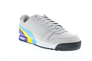 Puma Roma Retro_F 37297302 Mens Gray Synthetic Lifestyle Sneakers Shoes