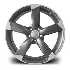 "19""matt gm rotor Alloy Wheels Audi A5/A8/a4/a6/Vw passat/Skoda/seat-no tyres"