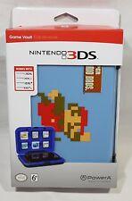Game Vault Nintendo 3DS / 3DS xl / DSi / DSi XL Hard Case Blue Super Mario Bros