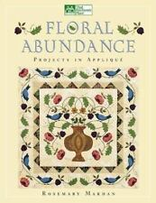 Floral Abundance: Applique Designs Inspired by William Morris-ExLibrary