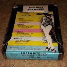 SMASH HITS 1977 VOLUME 30 brand new STILL SEALED-8 TRACK vintage music album