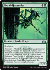 4 Kraul Harpooner / Kraul-Harpunier (mint, Gilden von Ravnica, deutsch)