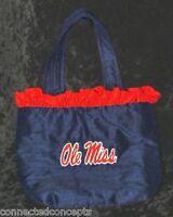 "Ole Miss/University of Mississippi Rebels ""Rhonda"" Silk Purse from LaShea NEW!"
