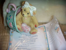 Cherished Teddies ~# 103667 Margaret A Cup Full Of Love Free Ship