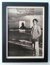 MIKE OLDFIELD*Incantations*1978*ORIGINAL*POSTER*AD*FRAMED*FAST WORLD SHIP
