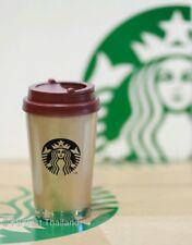 Starbucks Korea 12 Oz Gold Elma Tumbler stainless (HTF)