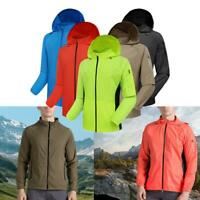 Men's Women's Waterproof Windproof Jacket Coat Motorcycle Cycling Hiking Running