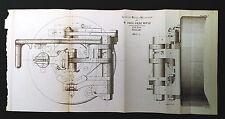 1892 Seabury Breech Mechanism for 5 In Siege Rifle Diagram Sheet 4
