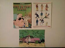 3 cartes postales Ted Benoit Les Humanoides associés Métal Hurlant