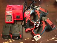 Milwaukee M12 and M18 Multi-voltage Rapid Battery Charger