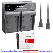 Kastar Battery AC Rapid Charger for Sony NPBG1 Sony Cyber-shot DSC-HX10V Camera