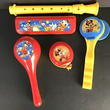 Disney Mickey Mouse Clubhouse Friends 5 Piece Party Music Instruments Set