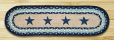 Blue Star Print Stair Tread or Table Runner