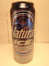 16oz. NATURAL ICE  ANHEUSER-BUSCH ALUMINUM STAY TAB BEER CAN #4 GOVERNMENT