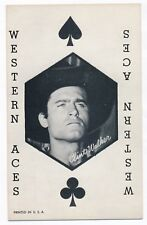 "Clint Walker Penny Arcade Vending Machine Playing Card 3 3/8"" x 5 3/8"" 1950s"