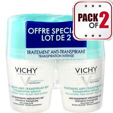 VICHY  48h Anti-Perspirant anti-transpirant Deodorant Roll On 2x50ml (pack of 2)