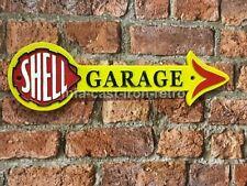 Cast Iron Shell garage arrow