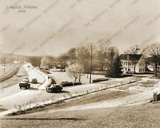 Langdale, Alabama 1949 Historic 8x10 Vintage Sepia Photo Reprint FREE SHIPPING!