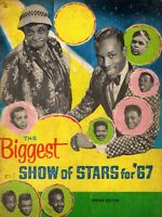 MOMS MABLEY/WILSON PICKETT/JR. WALKER 1967 BIGGEST SHOW OF STARS CONCERT PROGRAM