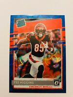 2020 Donruss Optic Tee Higgins Blue Scope Rated Rookie RC FREE SHIP
