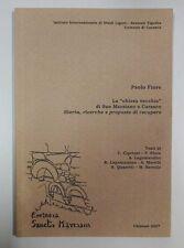 Fiore CHIESA VECCHIA DI SAN MARZANO A CARASCO Studi Liguri Chiavari 2007