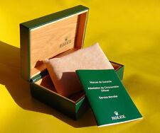Rolex Box grün Uhrenbox 68.00.08 Geneve Suisse Rolex gren I30