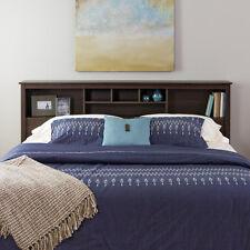 Edenvale Full/Queen Storage Headboard, Espresso - Prepac Furniture