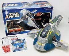 2001 Hasbro Star Wars Jango Fett's Slave 1 - Attack of the Clones