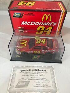 Bill Elliott #94 McDonald's Ford Thunderbird 1/24 Revell Collection NASCAR 1997