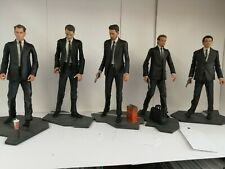 Neca Cult Classics Reservoir Dogs 2007 set action figures, used, loose