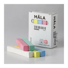 IKEA MALA CHALKS, ASSORTED COLOURS (pack of 10 chalks)