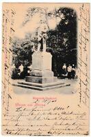 Ansichtskarte Hamburg - Gruss aus Altona - Das Bismarck-Denkmal - Litho 1901 s/w