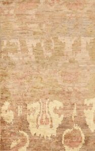 Contemporary Abstract Moroccan Oriental Area Rug Indoor/ Outdoor Handmade 5x8
